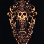 """Offering Chalice For The Devouring Lion"" (31""x17""x7"") SOLD"
